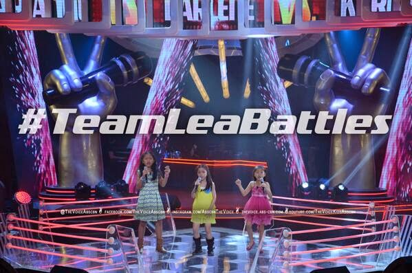 Mariane vs Karla vs Darlene Team Lea Battles on 'The Voice Kids' Philippines