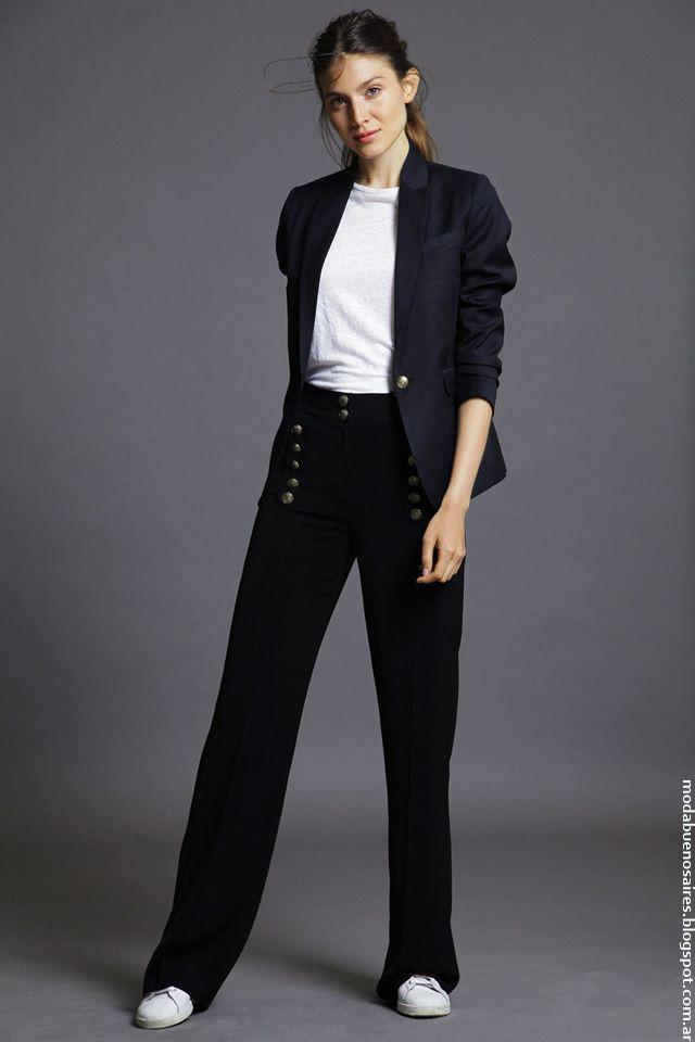 Pantalones de moda Awada invierno 2016 ropa. Moda invierno 2016.