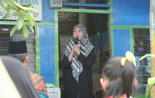 Tahun Politik, Ini Pesan Kedamaian Indira untuk Warga Makasaar