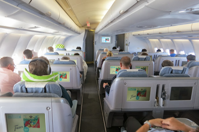 The New A330 Cabin OH LTR To LTU