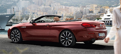 BMW 6 Serisi Kırmızı Cabrio 2016