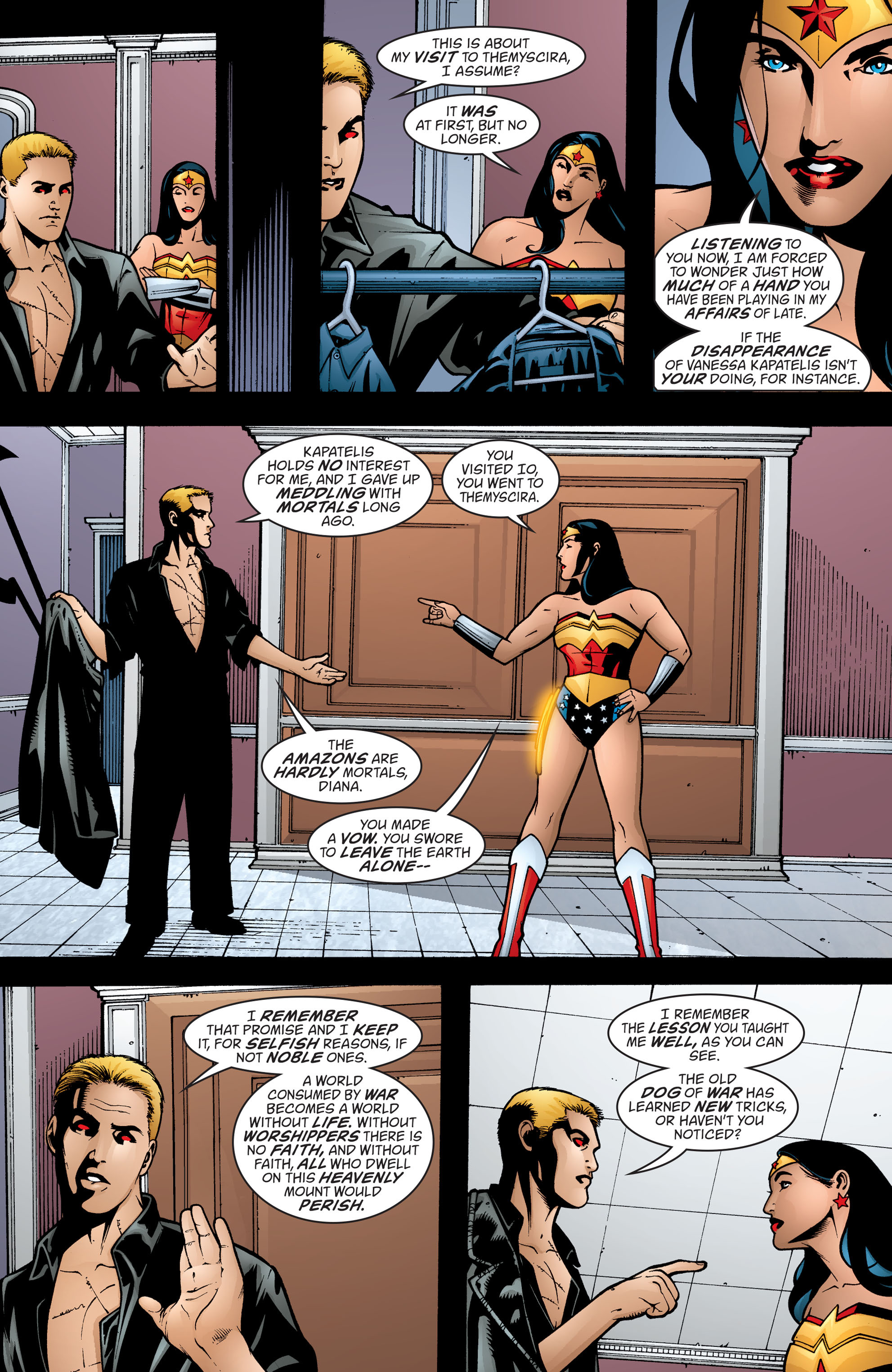 Read online Wonder Woman (1987) comic -  Issue #199 - 13