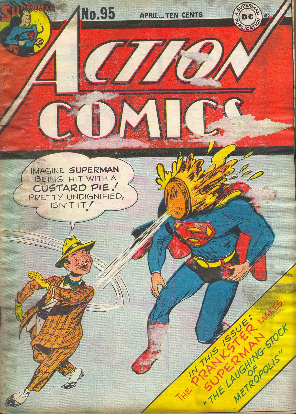 Read online Action Comics (1938) comic -  Issue #95 - 2