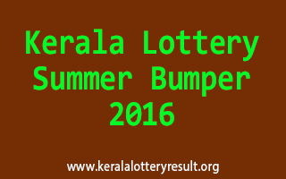 Summer Bumper 2016 BR-48 Lottery Prize Structure