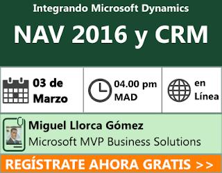 http://www.comunidadcrm.com/blog/event/03-de-marzo-integrando-microsoft-dynamics-nav-2016-con-microsoft-dynamics-crm/