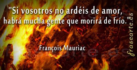 Frases de amor - François Mauriac
