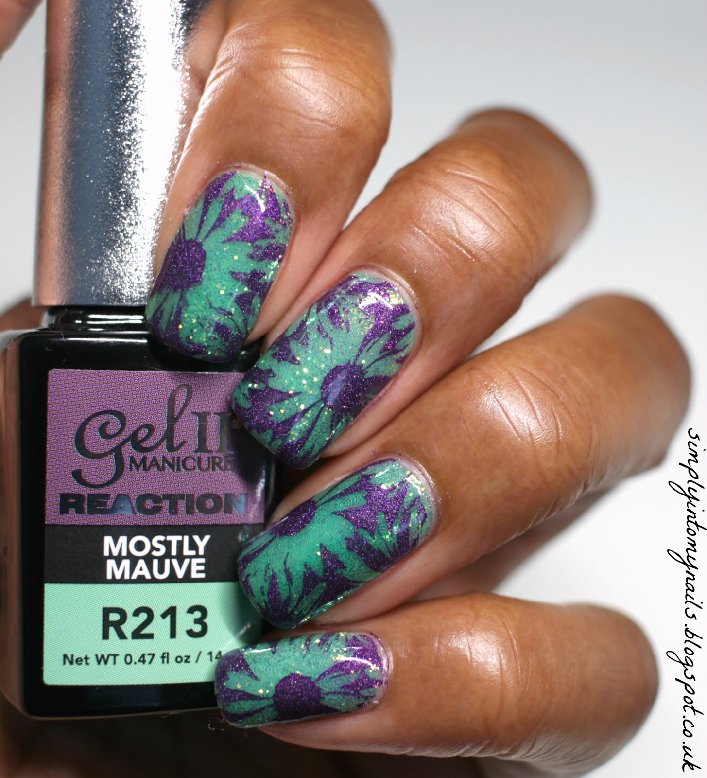 Gel II Reaction Rhythm ~ Mostly Mauve | Simply Into My NAILS