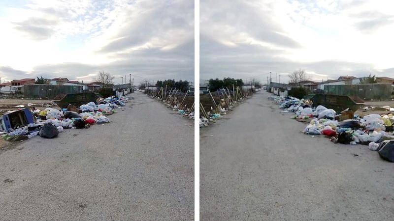 Ο Δήμος Αλεξανδρούπολης τοποθέτησε πινακίδες οδών στη συνοικία Άβαντος αλλά τα σκουπίδια καλά κρατούν