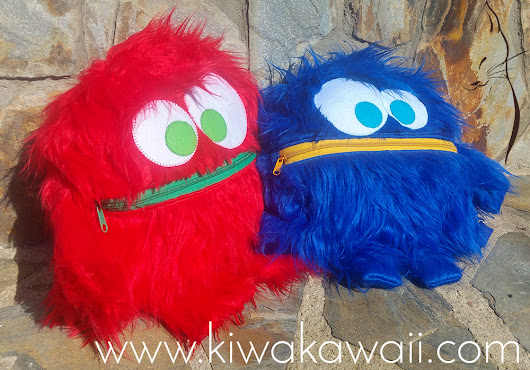 Kiwa Kawaii: Cose Conmigo: Un Monstruo guardapijamas y una Monsterchila