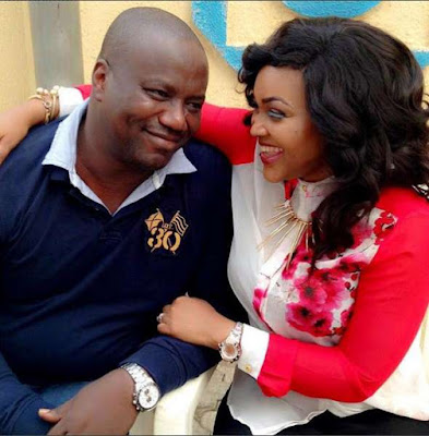 Lanre Gentry, with Mercy Aigbe