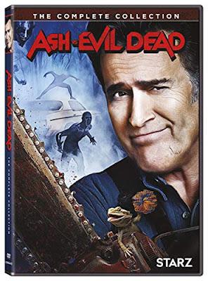Ash Vs Evil Dead Complete Series Dvd