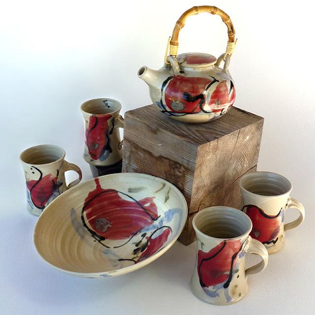 Céramique d'art, poterie fait main