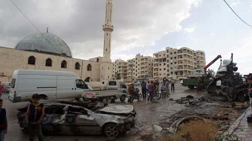 Terus Diserang, Idlib Bak Hari Kiamat