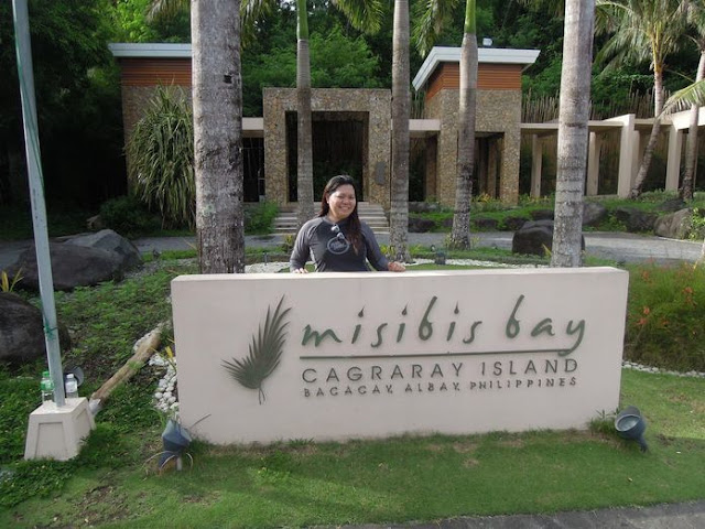 Marker of Misibis Bay