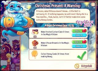 Christmas Present A Warning