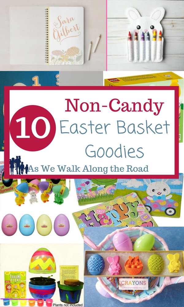 Non-candy Easter basket gifts