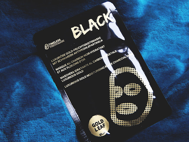 *Timeless Truth Luxurious Gold Moisturising Black Charcoal Mask Review