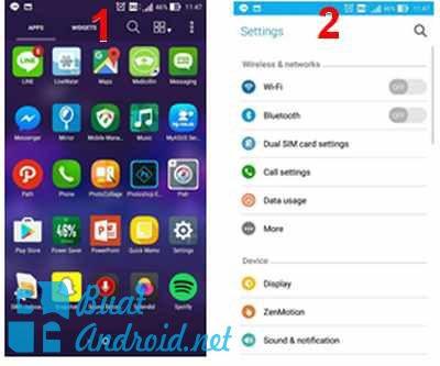 Cara Setting 4G di Asus Zenfone Series Dengan Mudah