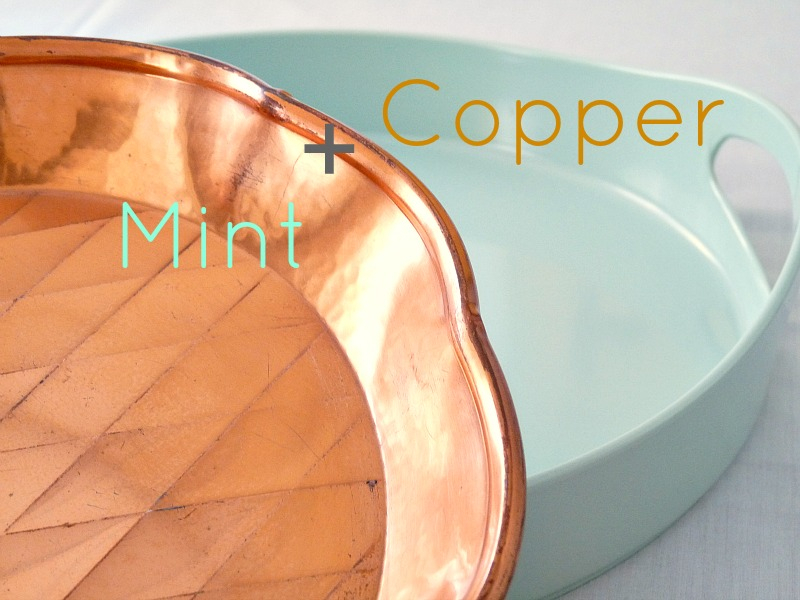 Mint and copper