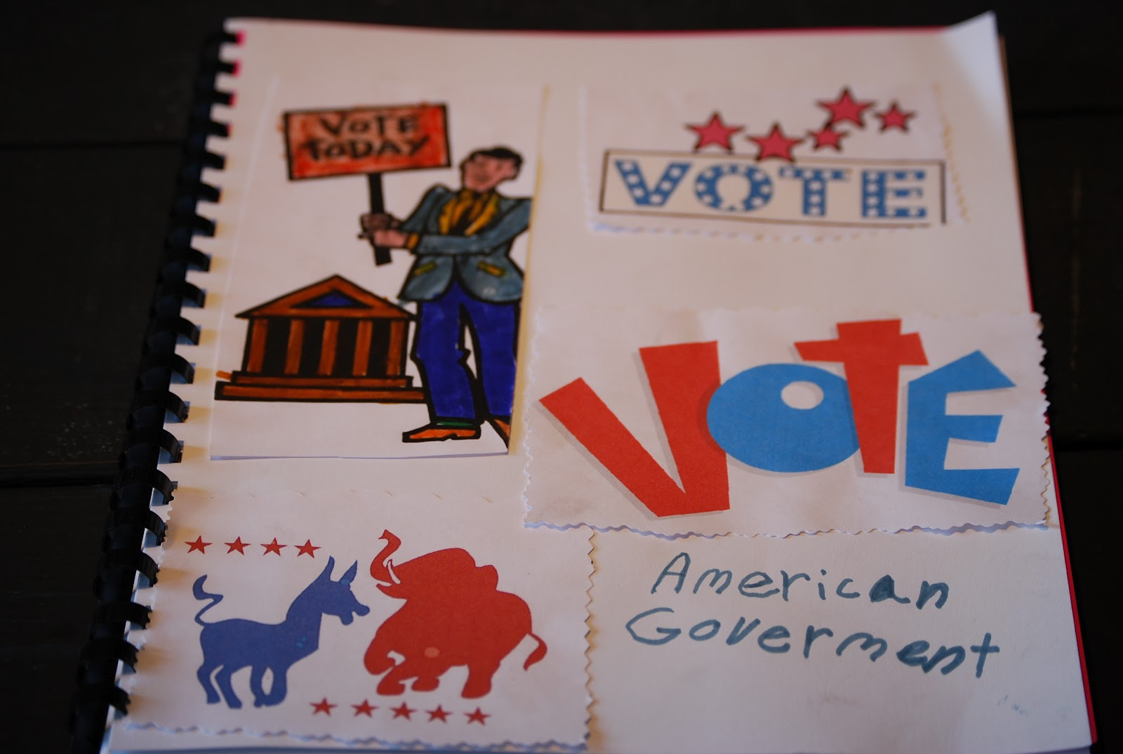 Maineiac Homeschoolers American Government Election Unit