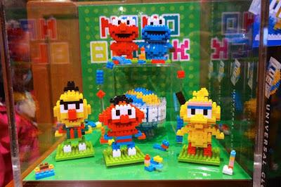 Sesame Street Nano Blocks at USJ