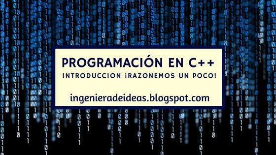 introdución programación c++