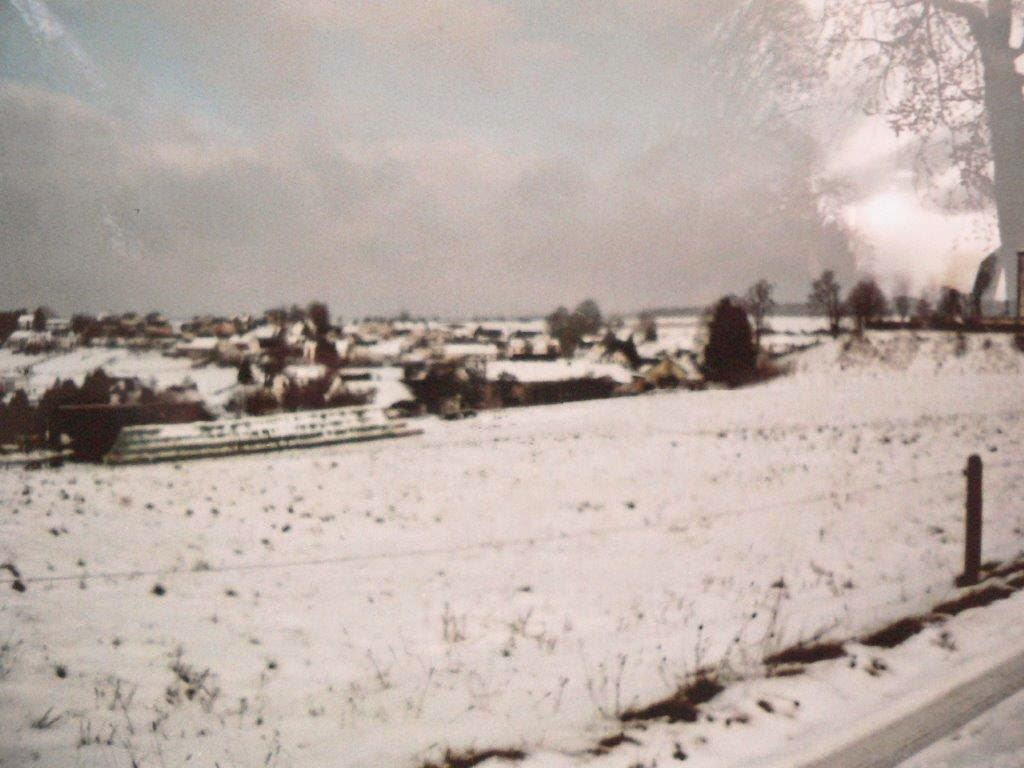 Schnee Eifel Analog Foto Winter