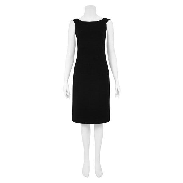 Combinar vestido negro tubo