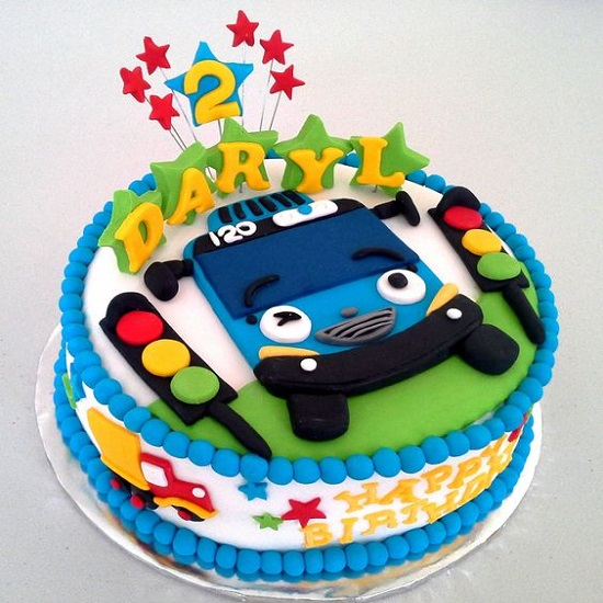 Kue Ulang Tahun Karakter Tayo