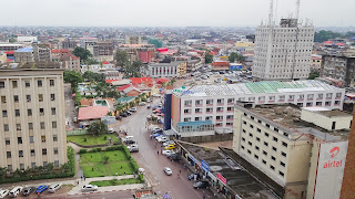 Good lookout in Kinshasa