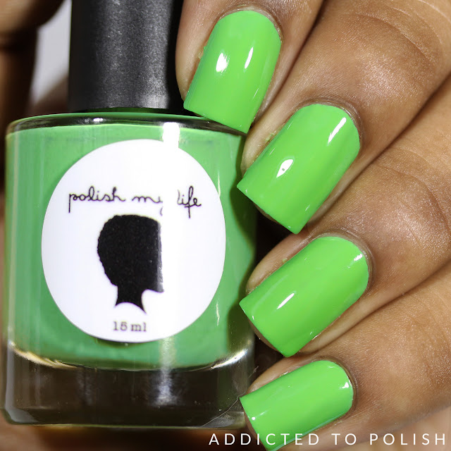 Polish My Life Green Goddess