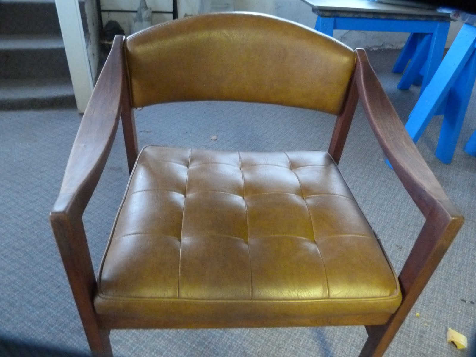 Practical Upholstery Design Studio Contemporary Side Chair Repair