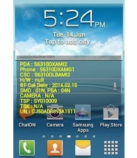 Masih dalam rangka selepas Root Galaxy Young  Cara Mudah Menghilangkan Text Kuning di Layar Smartphone Android Tanpa Aplikasi Setelah Flashing (No ROOT!!)