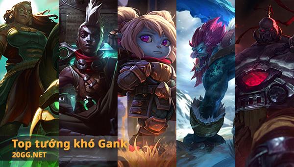 Những tướng muốn Gank cũng không dễ chút nào thumbnail