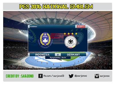 PES 2016 National Emblem