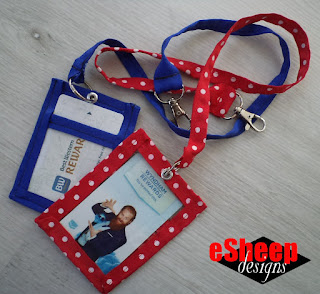 Room Key Card Lanyard by eSheep Designs