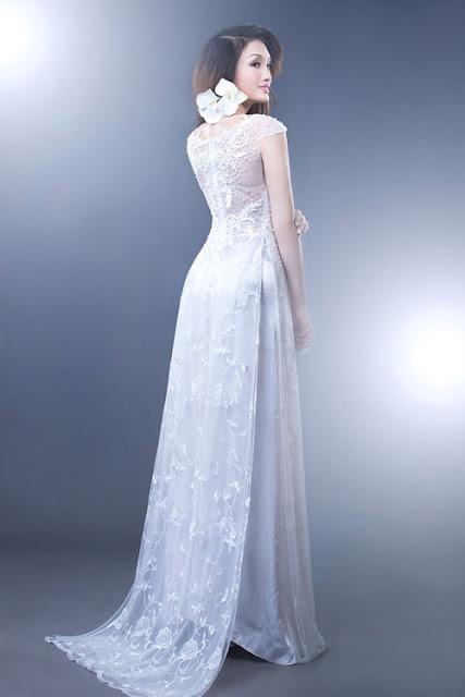 thuê áo dài cô dâu