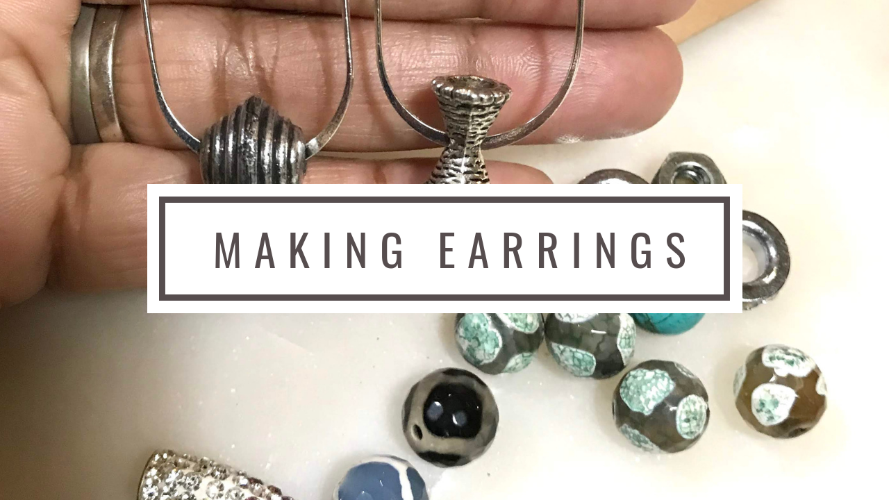Image: Woman making earrings and sharing her tips and hacks to selling anywhere