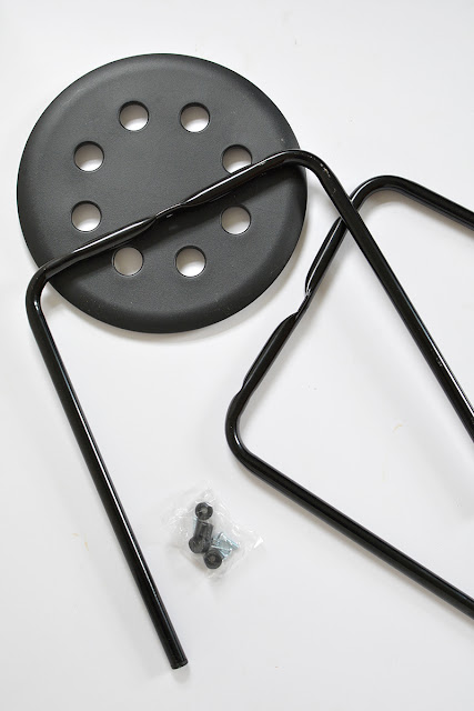 Diy taburete Marius de Ikea