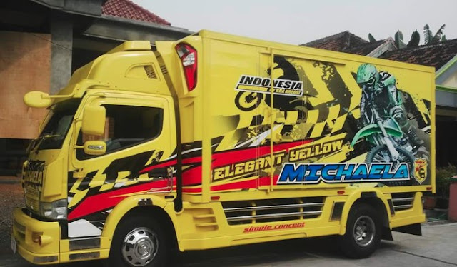 Modifikasi Mobil Box Canter Arena Modifikasi