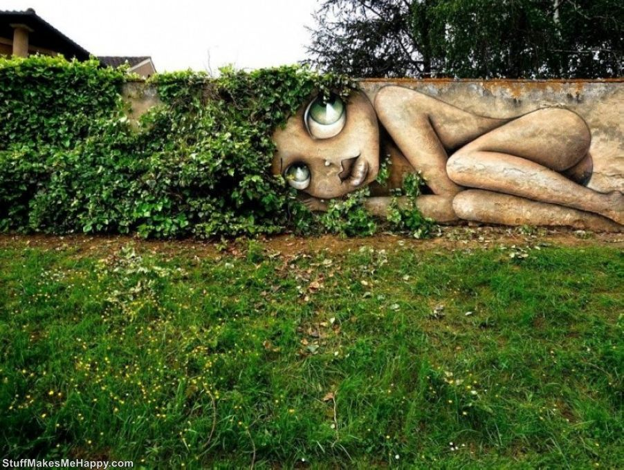 Wonderful Pieces of Street Art That Mesmerized Us In 2015