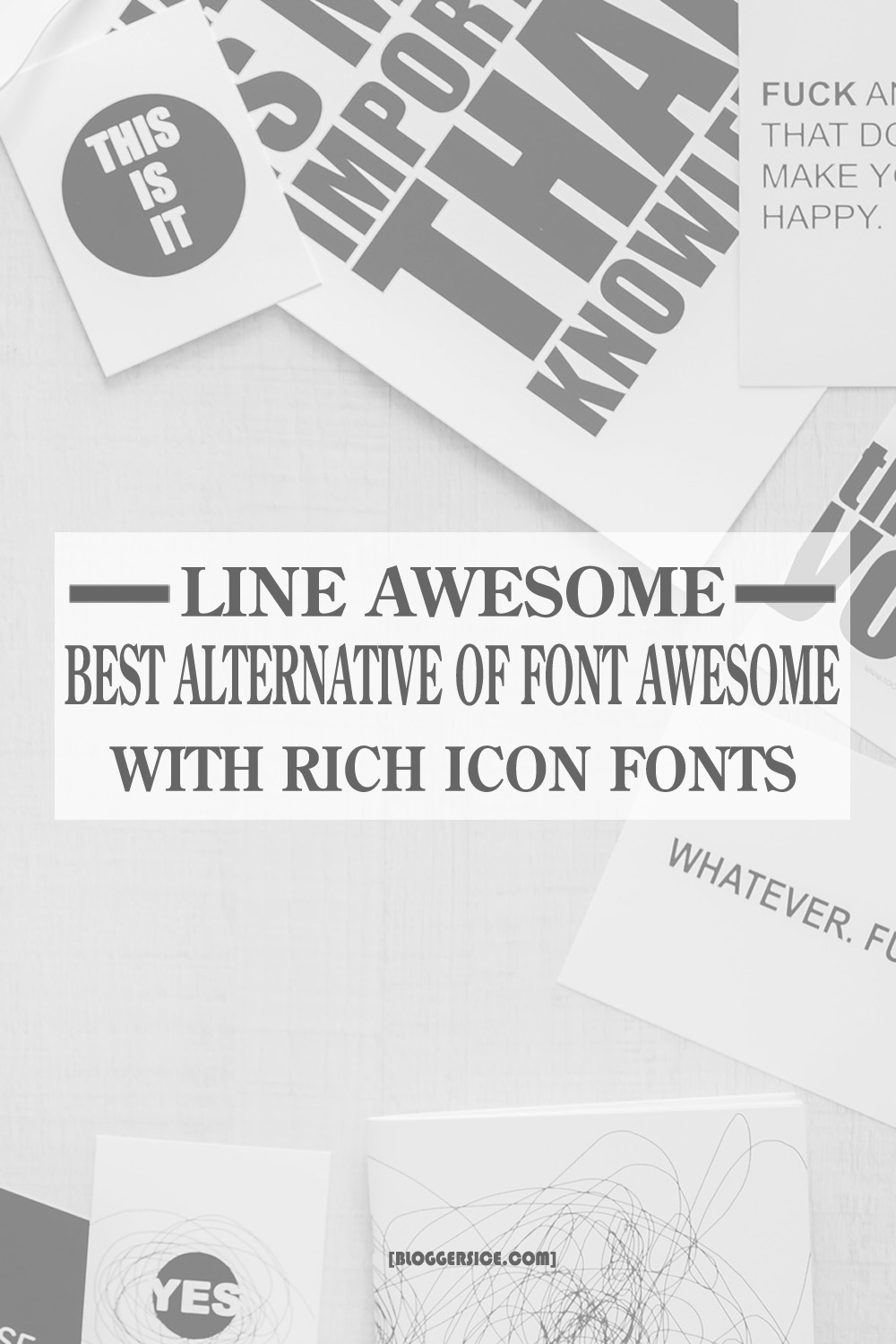 Line Awesome - Best Alternative of Font Awesome with Rich Icon Fonts