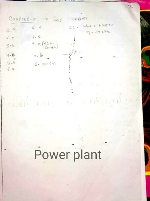 Power Plant Engineering Made Easy Workbook Answer Key