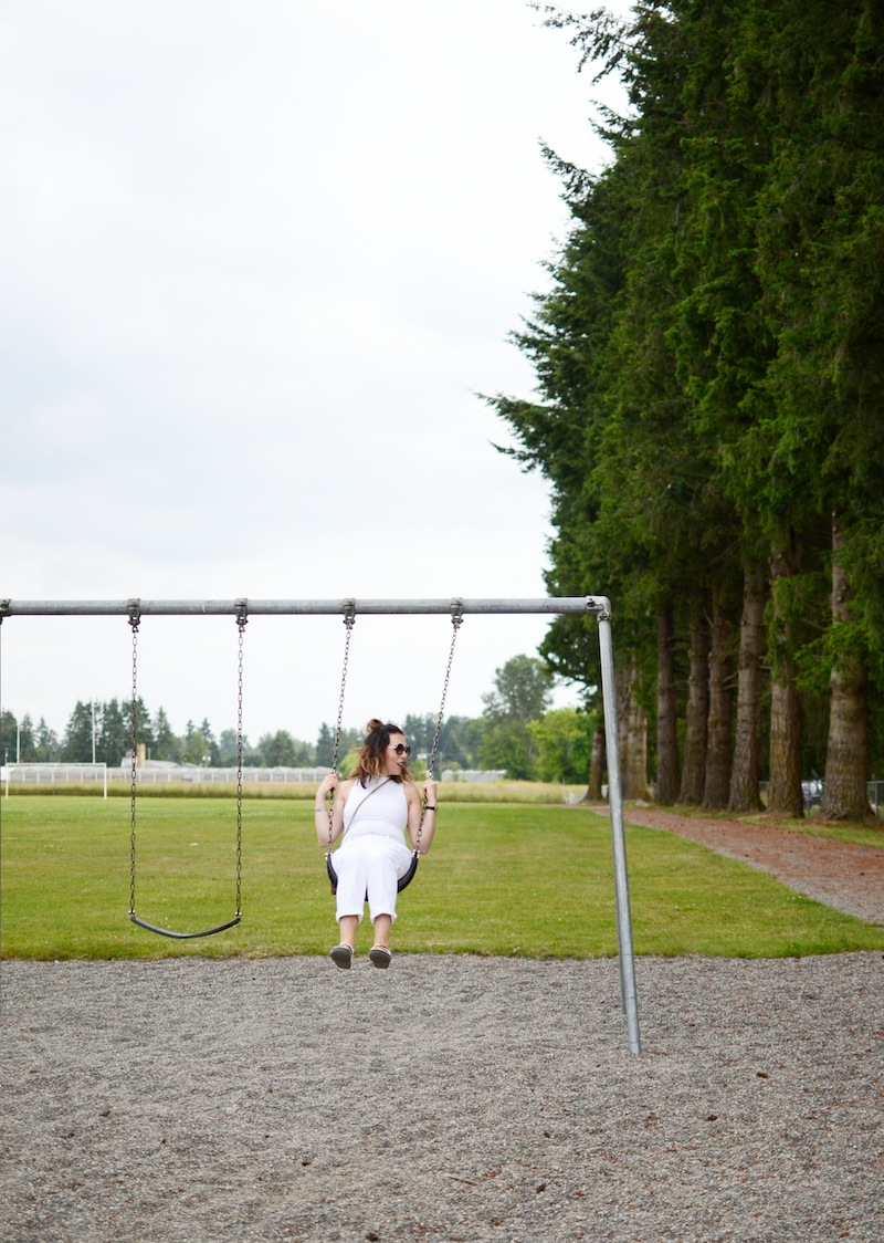All white outfit Geox metallic sandals summer 2016 travel shoes Vancouver fashion blogger Gucci Dionysus