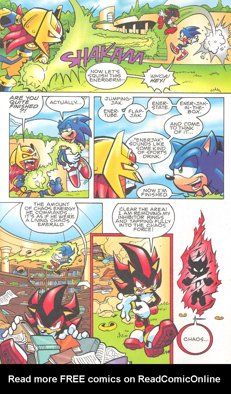 Read online Sonic The Hedgehog comic -  Issue #182 - 6