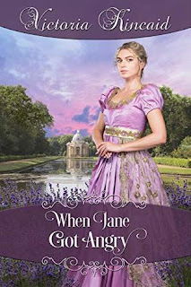 Book cover: When Jane Got Angry by Victoria Kincaid