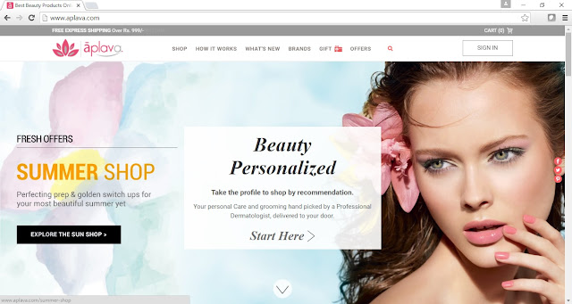 Aplava Online Beauty Store - Best online beauty store in India - Vegan beauty India