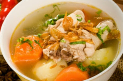 Resep Membuat Sop Ayam Sederhana Spesial Buka Puasa