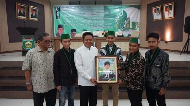 LK ll  HMI Cabang Palembang Resmi di-buka  oleh Gubernur Sumsel