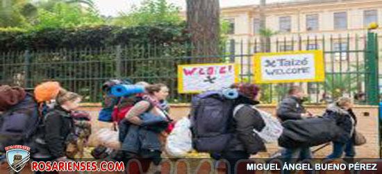 Roma: inició la peregrinación de Taizé | Rosarienses, Villa del Rosario